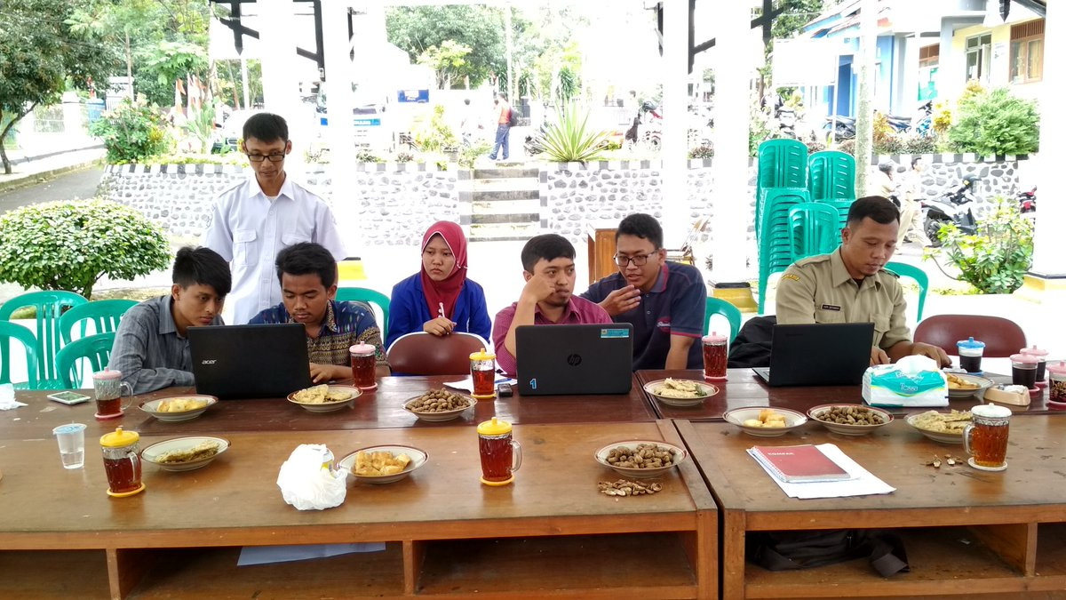 Tim dari PUSPINDES sedang memberi Pengarahan (foto oleh Untung Prayitno)